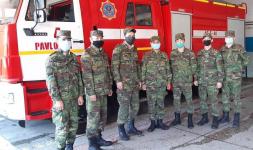 Павлодарские пожарные вынесли из задымленной квартиры женщину, потерявшую сознание