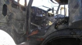 В Павлодарской области сгоревший в КамАЗе 4-летний мальчик мог сам устроить пожар