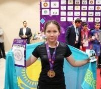 Юная павлодарка стала чемпионом мира в уникальном виде единоборств