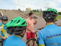 В Павлодаре возобновились спортивные тренировки на улице