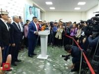 Сооронбай Жээнбеков стал новым президентом Кыргызстана