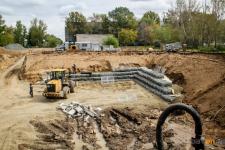 На Втором Павлодаре закончились земляные работына котловане-накопителе