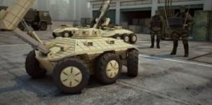 Беспилотный боевой робот