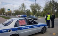 За долги по налогам полицейские отправляют автомобили павлодарцев на штрафстоянку