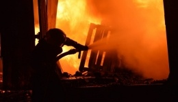 На угольном разрезе в Баянауле произошел пожар
