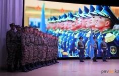 Павлодарские призывники пройдут службу в десантно-штурмовых войсках