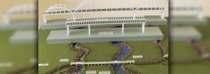 Строительство трех мостов в Павлодарской области завершено на 90%