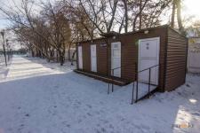 В Павлодаре установили два новых общественных туалета