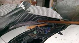 Жильцы пострадавшего от урагана дома в Экибастузе пожаловались Назарбаеву