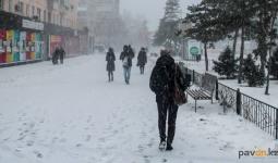 Потепление и снег прогнозируют синоптики