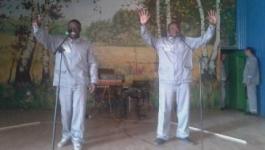 Осужденные камерунцы запели по-казахски в павлодарской колонии