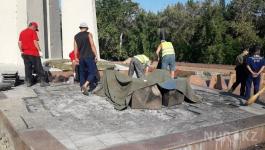 «Вечный огонь» потух при загадочных обстоятельствах в Павлодаре