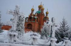 Рождественские службы прошли в православных храмах Павлодарской области