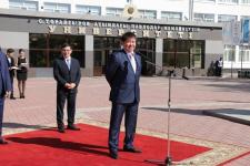 Павлодарские металлурги поздравили первокурсников