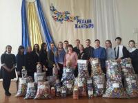 Почти 80 тысяч пластиковых крышек собрали ученики школы №24