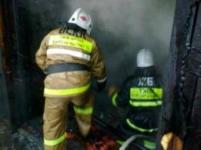 Во время пожара в одном из КХ Павлодарской области огнем уничтожено 60 т гречихи