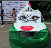 В Павлодаре прошёл маскарад автомобилей