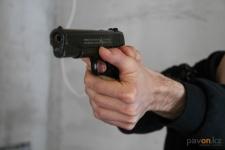 Житель Павлодара ранил двоих горожан резиновыми пулями