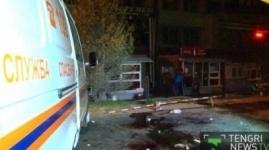 Взрыв прогремел в одном из кафе Алматы