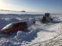 В Прииртышье за два дня сразу несколько машин вылетело в кювет