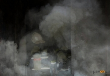Труп мужчины найден пожарными при тушении подвала