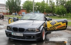 Павлодарцам предложилипрокатитьсянадрифт-такси