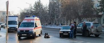 В Павлодаре на пешеходном переходе сбили пенсионера