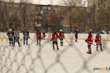 В Павлодаре состоялось открытие трех обновленных хоккейных кортов