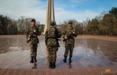 Павлодарские школьники заступили на Вахту памяти
