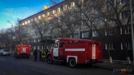 В Павлодаре загорелось общежитие музыкальной школы-интерната