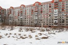 В Павлодаре на месте долгостроя планируют построить дом с торговым центром и паркингом