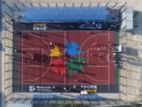 Пять универсальных спортивных площадок установят в двух городах Павлодарской области