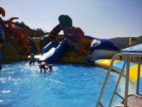 В Баянаульском районе открылся детский аквапарк «Балатау»
