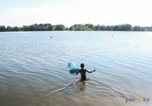 Трое малолетних павлодарцев отправились купаться без сопровождения взрослых