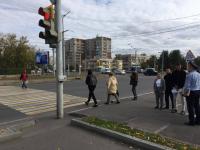Павлодарские студенты просят полицию установить светофор на перекрестке проспект Назарбаева-Ломова