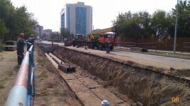Более 5,5 миллиона тенге штрафов наложено за нарушения благоустройства при проведении земляных работ в Павлодаре