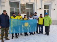 57-летний супермарафонец пробежал 88 километров по Павлодару в 20-градусный мороз