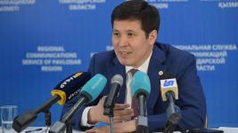 Абылкаир Скаков поздравил журналистов с профессиональным праздником и поблагодарил за труд в условиях пандемии