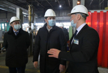 Абылкаир Скаков посетил предприятия железнодорожного кластера в Экибастузе