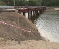 Новый автомобильный мост через Усолку закрыт на ремонт