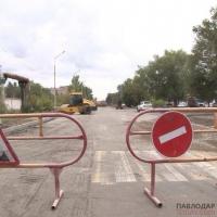 Расширить еще одну улицу в Павлодаре намерены коммунальщики