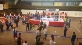Чемпионат Европы по кунг-фу перерос в массовую драку