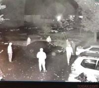 В Павлодаре полицейские не могут найти автомобиль, угнанный под камерами наружного наблюдения