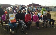 Самым активным читателям библиотеки села Павлодарское вручили призы
