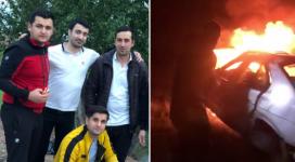 Спасители рассказали, как доставали мужчину из горящего авто