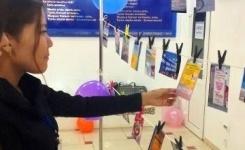 В Павлодаре жасотановцы организовали выставку вывесок на казахском языке с ошибками
