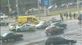 Мужчина погиб под автовышкой в центре Павлодара