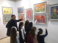 Павлодарская художественная школа отпраздновала юбилей изостудии