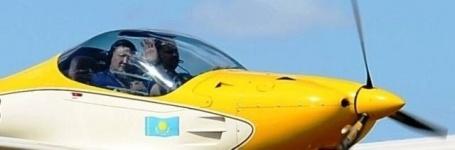 На Баянаульском аэродроме приземлился первый самолет