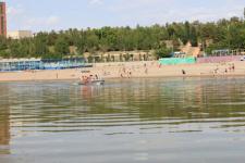Об опасности купания в Иртыше предупреждают спасатели